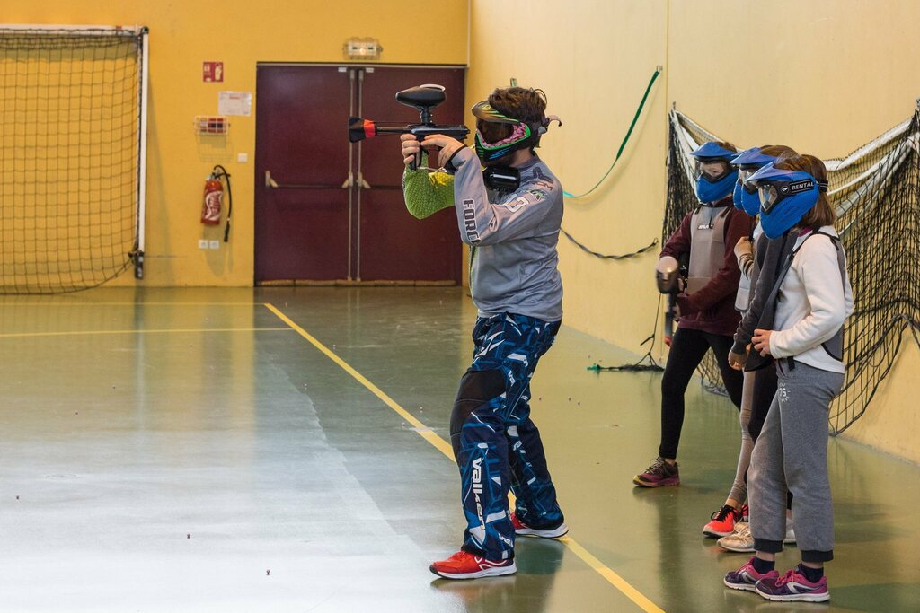 Ecole paintball -12 ans